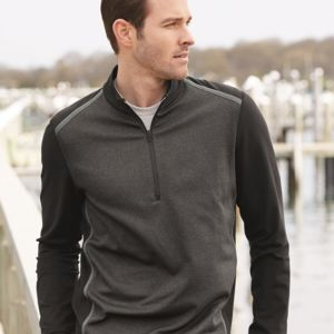 Quarter-Zip Birdseye Fleece Pullover Thumbnail